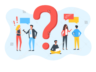 stock-vector-question-group-of-talking-people-with-speech-bubbles-and-giant-question-mark-customer-service-1873574524